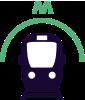 metro public transport Rotterdam Zoo