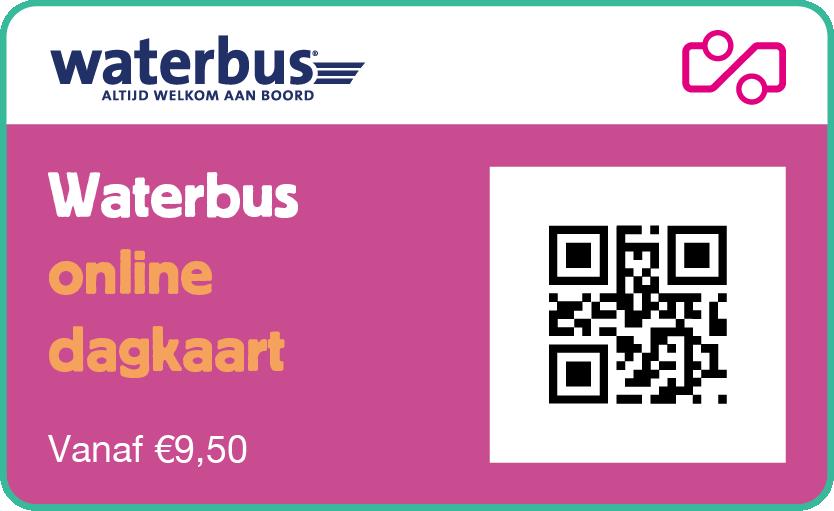 Waterbus ticket