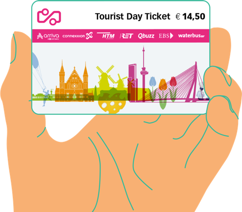 Follow the Atmospheric Walks route with the Tourist Day Ticket