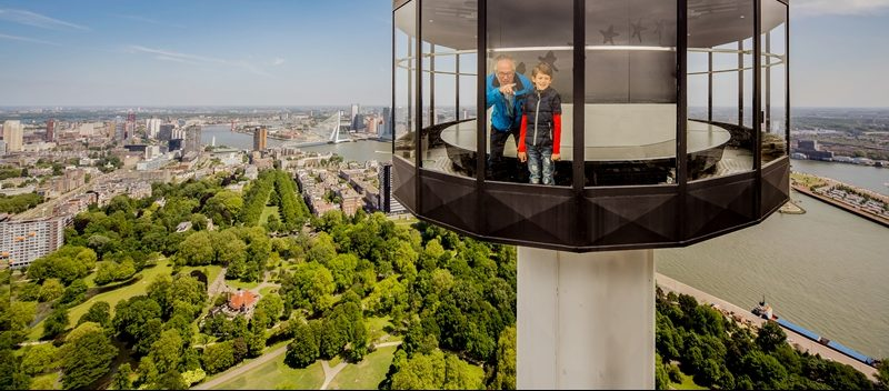 Visit the Euromast with the Tourist Day Ticket