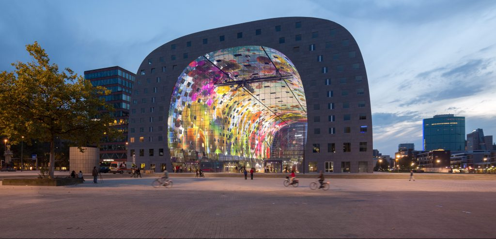 Visit the Markthal with the Tourist Day Ticket